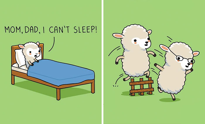 30 Adorable Comics That Have Unexpected Takes On Everyday Situations