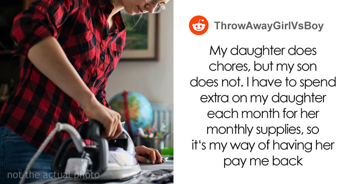 Dad Makes Daughter Do House Chores In Return For Menstrual Pads, The Internet Goes Berserk On Him