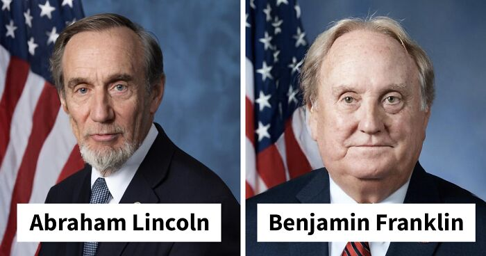 Artist Uses AI To Recreate The Looks Of Abraham Lincoln And Other Historical Figures As If They Lived In Modern Times (9 Pics)