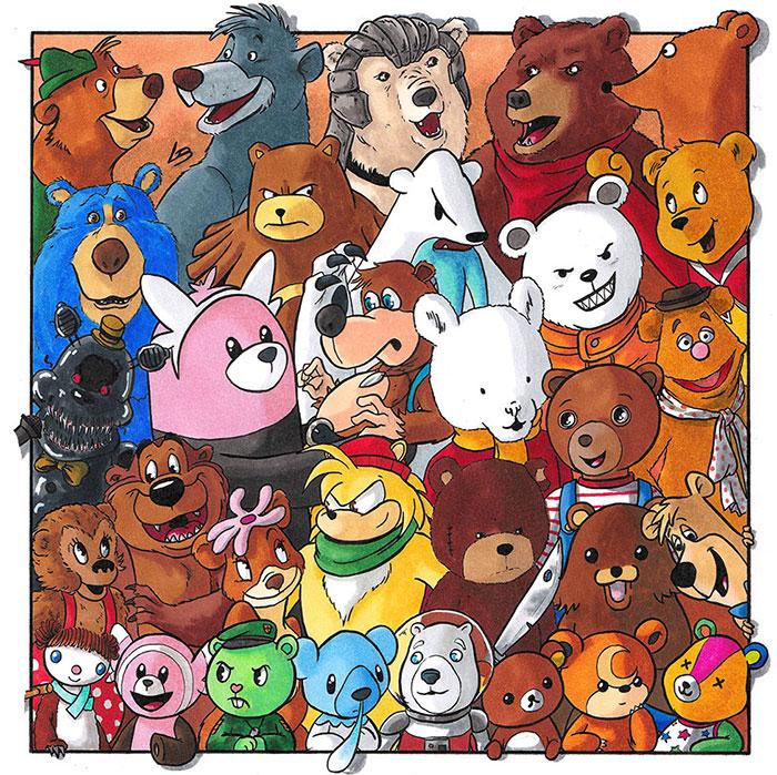 He clasificado a los personajes de la cultura pop por especies y aquí están los 11 equipos