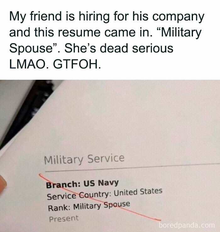 Military Spouse Counts As Service Now