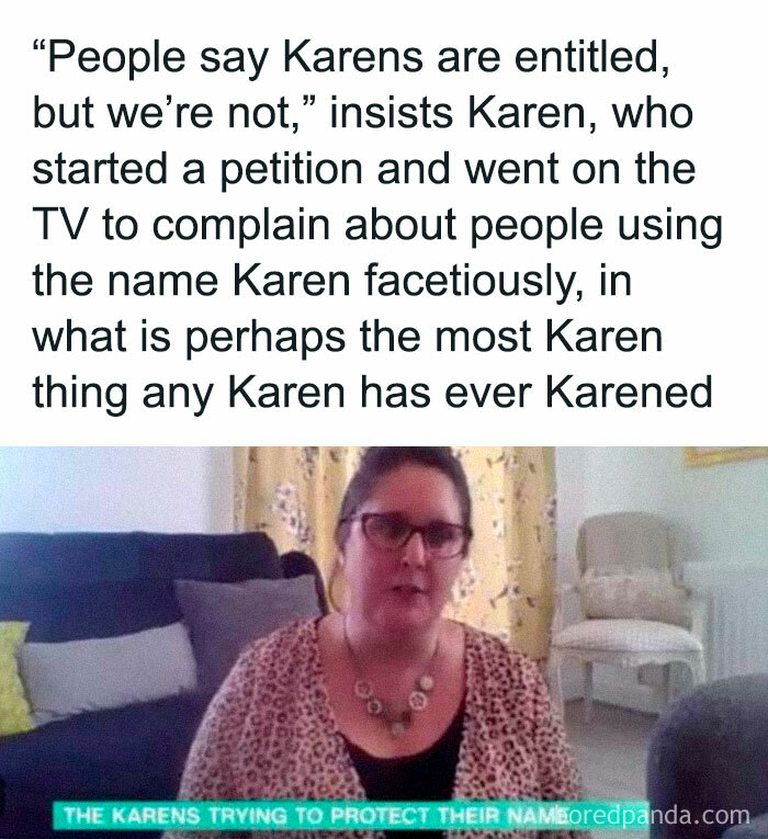Such A Karen Thing To Do