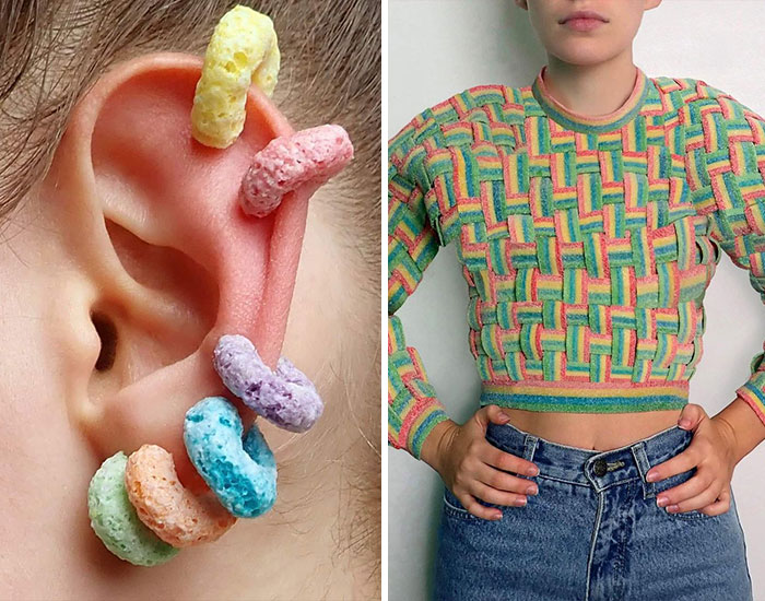 30 Style Accessories Made From The Most Random Stuff You Can Find In Your Home By This Canadian Artist
