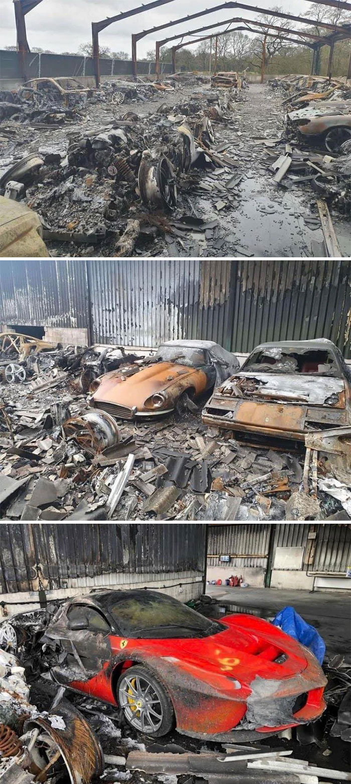 Supercar Storage In Cheshire Burned Down...
