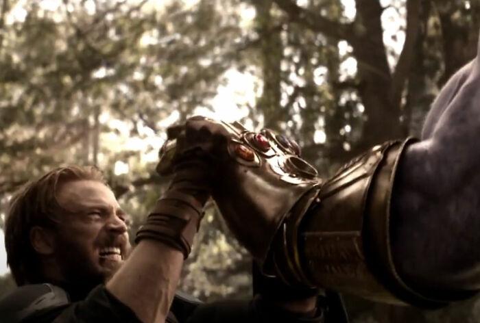 Por qué Steve Rogers fue capaz de resistir a Thanos