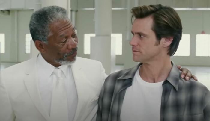 """En """"Bruce Almighty"""", el personaje de Morgan Freeman es en realidad Satanás, no Dios"""