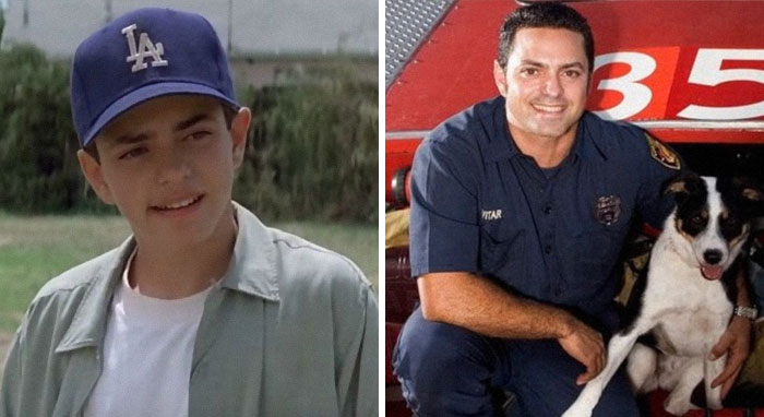 """Mike Vitar From """"The Sandlot"""" Is Now A Firefighter"""