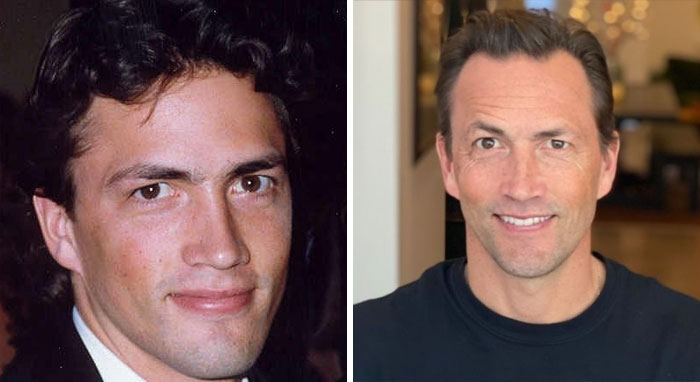 """Andrew Shue Known For """"Melrose Place"""" Is Now A Online Publisher, Co-Founder Of Cafemom, A Website Focusing On Parenting Content And Women's Interest"""