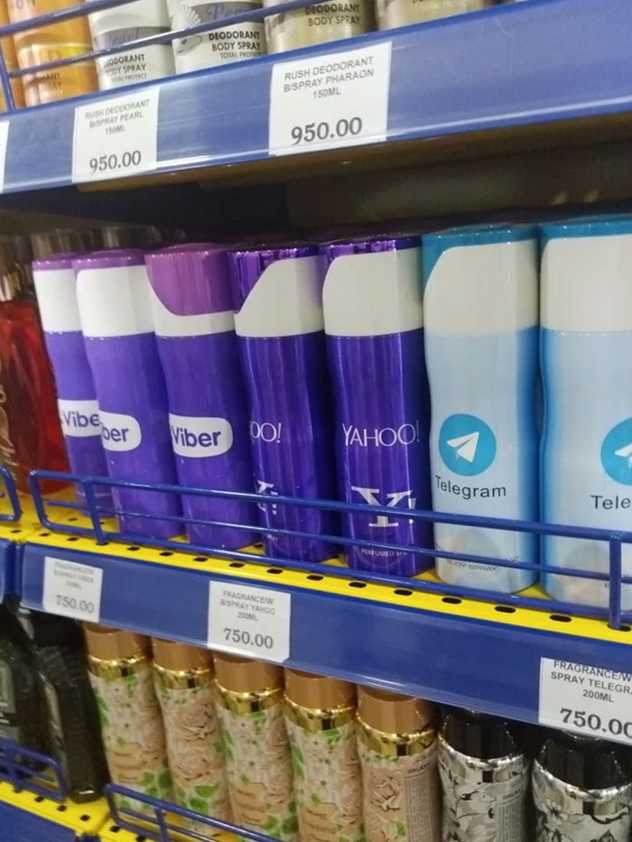 Never Knew All These Social Media Brands All Sell Body Sprays