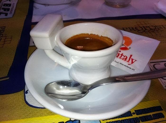 Es un espresso