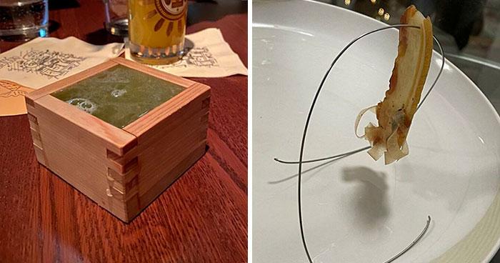 30 Personas a quienes les sirvieron la comida de forma ridícula en los restaurantes (fotos nuevas)