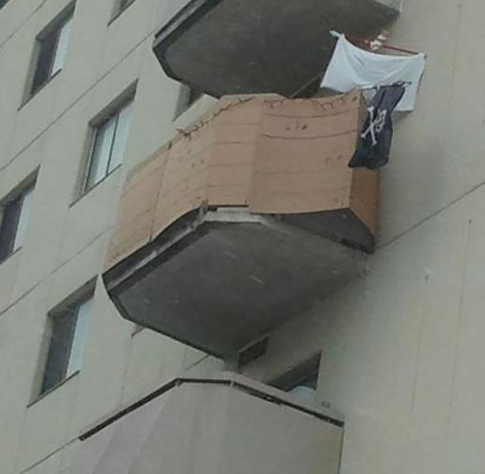 My Neighbors Made Their Balcony Into A Pirate Ship