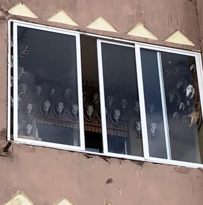 The Creepiest Balcony Ever