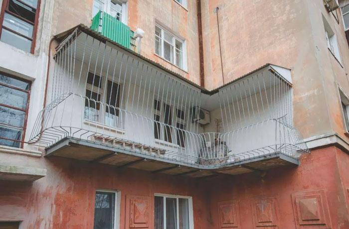 Birdcage Balcony In Ukraine