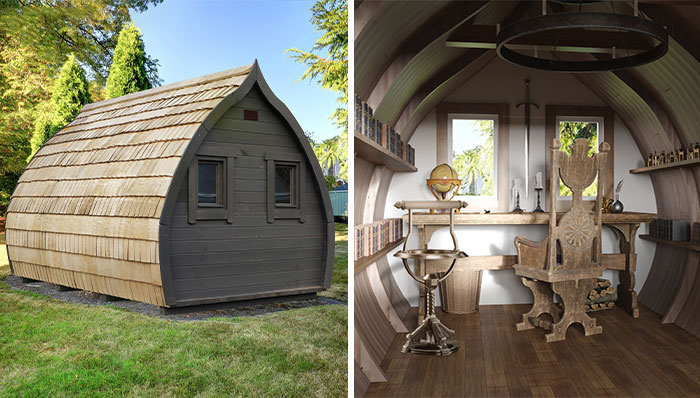 Designers Created Garden Offices Inspired By Popular TV Series And Movies