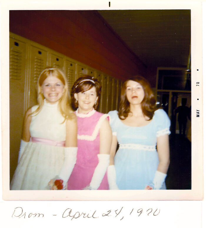 Prom - April 24, 1970. Found While Walking The Dog This Morning