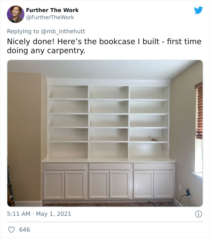After A Twitter User Shared Her Finished Home Library 21 Others Responded By Showing Theirs.