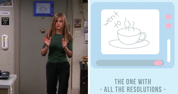 Here Are 99 Hidden Messages On The 'Friends' Magna Doodle Board, And I've Recreated All Of Them So You Can Take A Better Look