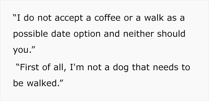 Influencer Says Going for Coffee or Walks on First Date are Unacceptable as First Date Options..