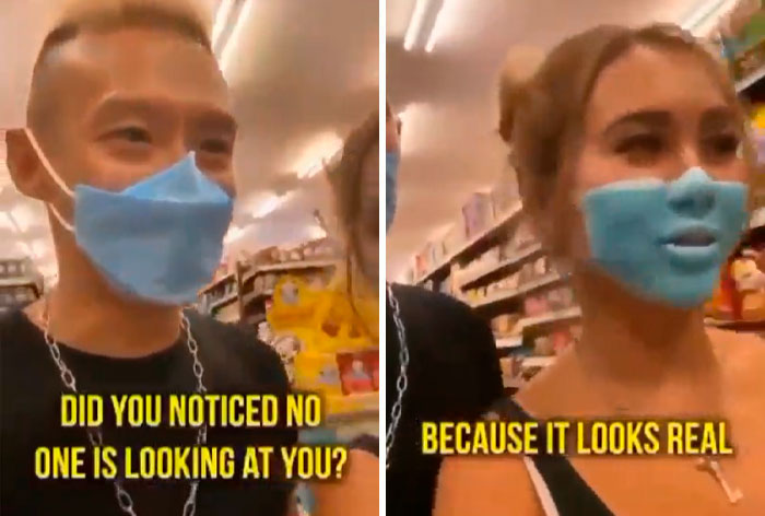 2 Influencers Are Asked To Deport From Bali For Painted-On Face Mask Prank