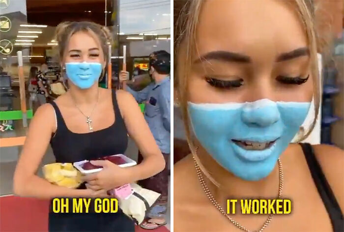 Painted-On Face Mask Prank Gets Influencers Deported From Bali
