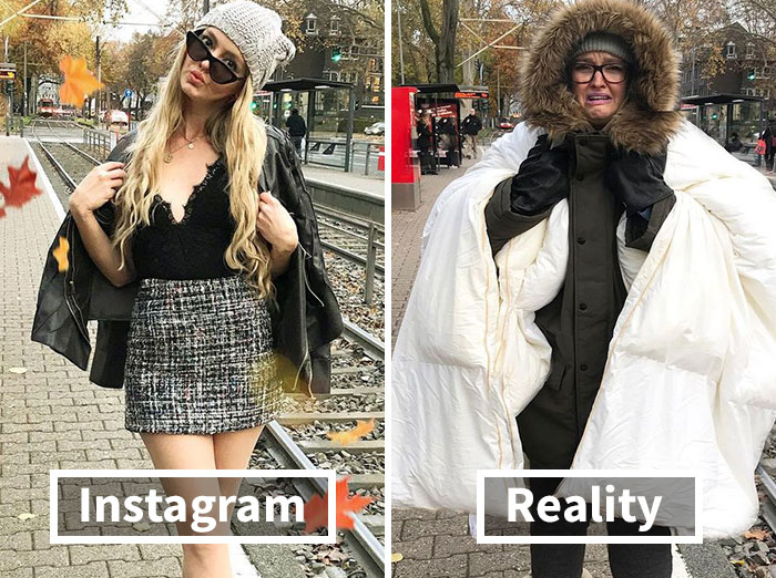 Woman Mocks Social Media And Shows The Reality Behind Those Perfect Instagram Photos (30 New Pics)