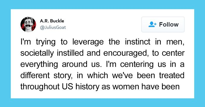 Twitter User Shows What Living In A Matriarchy Instead Of A Patriarchy Would Be Like