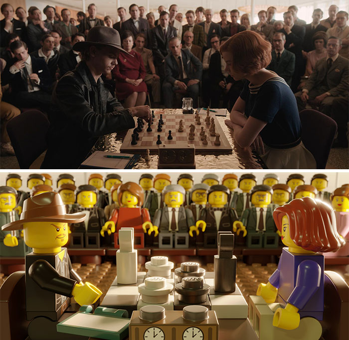 Digital Artists Recreate Scenes From 8 Netflix Shows In LEGO And Some Of Them Would Cost Up To $1000 In Real Life