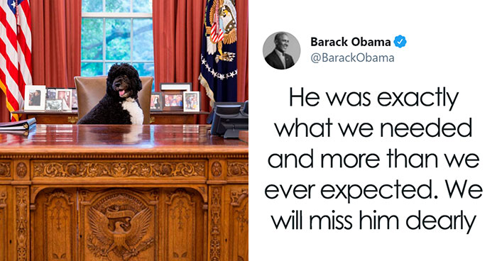 President Obama Shares Heart-Wrenching Tribute To Honor His Late Doggo And The Internet's Crying With Him