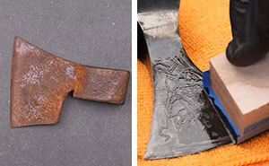 I Transformed An Old Rusty Axe Into A Viking Hatchet