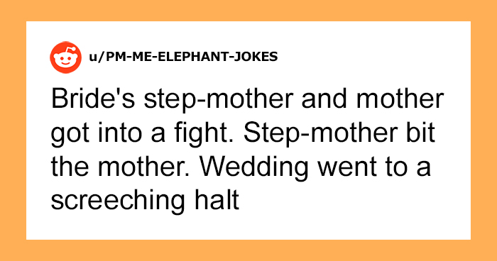 35 People Reveal The Worst Thing They've Ever Seen At A Wedding