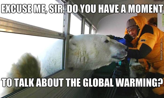 Meme + Climate Activism = This