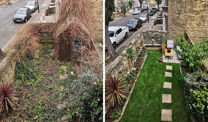 A Bit Late To The Party, But Here's My Lockdown Garden Transformation