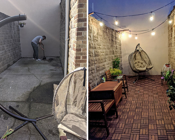 2 Days Of Work, 83 Days Of Waiting For The IKEA Order To Ship: Another Covid Backyard Make-Over