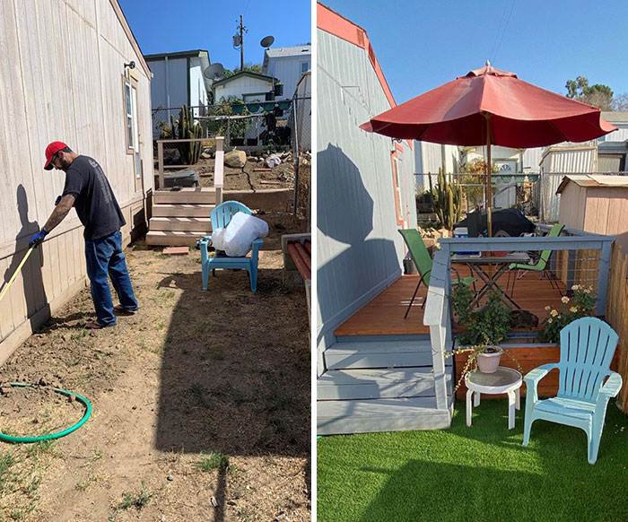 My Husband Transformed Our Backyard With His Own 2 Hands Over 9 Months