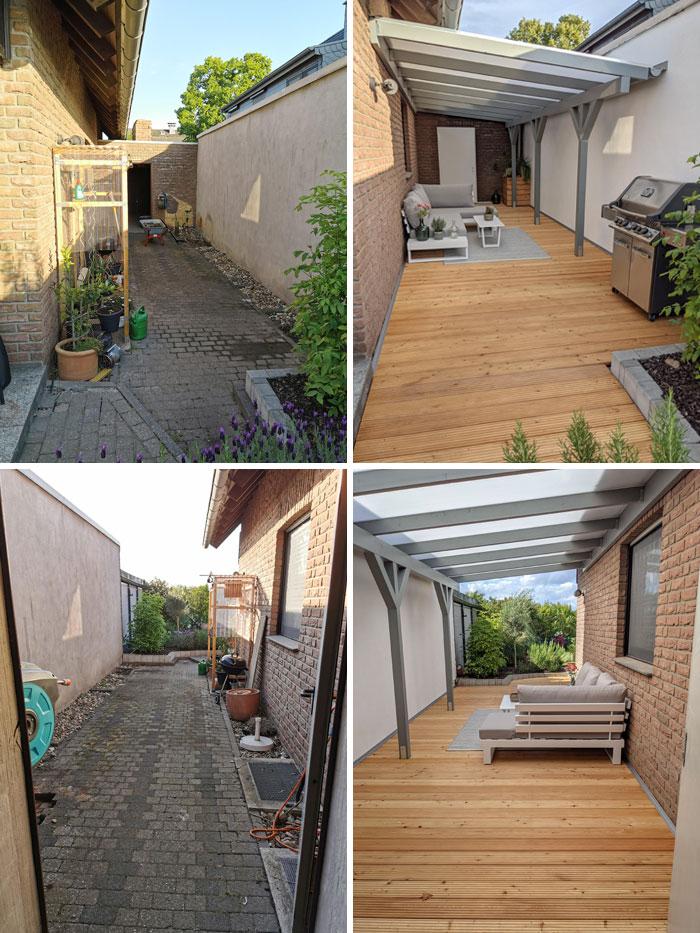 Outdoor Living Room - My Corona Project
