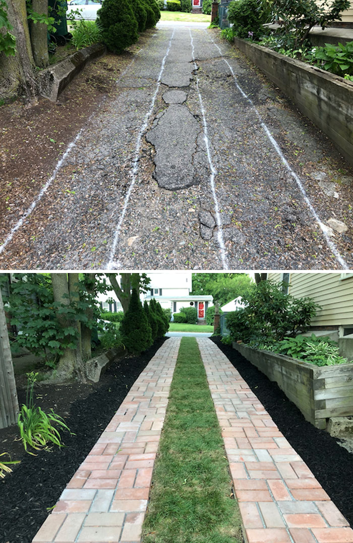 You Guys Like Driveways? This Was My DIY Covid-19 Project