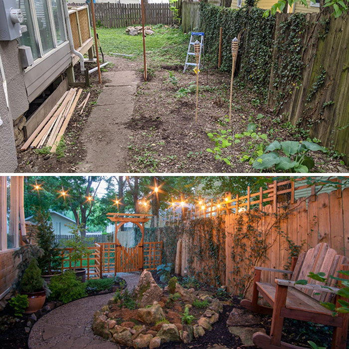 My Quarantine Project, Before And After