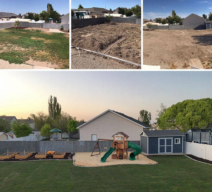With My Free Time During Quarantine, I Gave My Kids The Backyard I Have Promised For Two Years