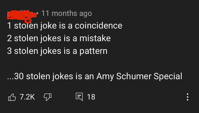 This Came From A 26 Minute Video Documenting Her Stolen Jokes