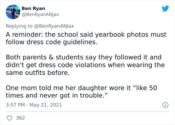 High School Photoshops Out All Traces Of Cleavage In The Yearbook Pics Of 80 Girls And Parents Are Not Happy