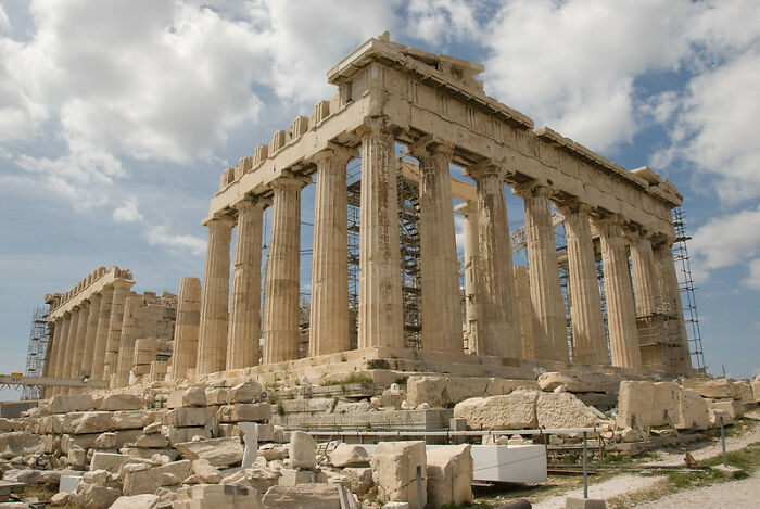 Wearing High Heels Is Prohibited At Some Historical Sites In Greece