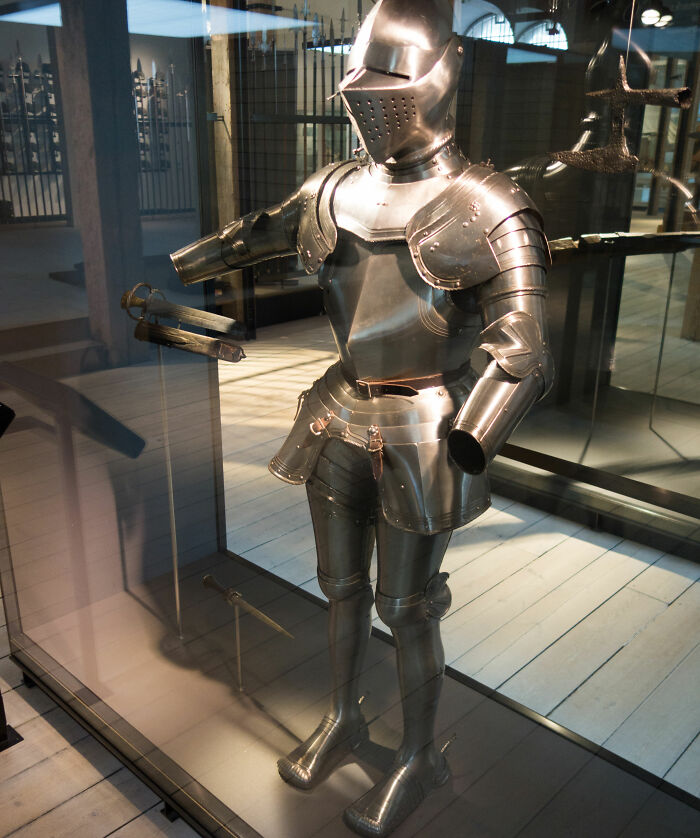 You Cannot Enter The British Parliament Wearing Armor