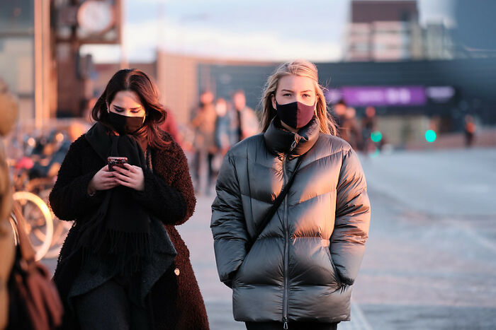 It's Illegal To Wear A Mask Fully Covering The Face In Public In Denmark