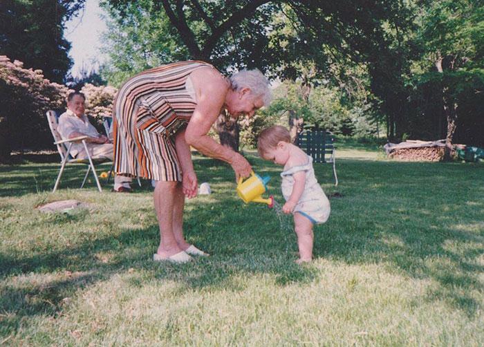 Mi abuela me regaba para que creciera (1991). El próximo mes cumplirá 98 años
