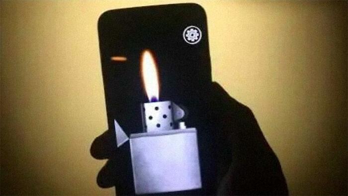 Fake Lighter Phone Apps