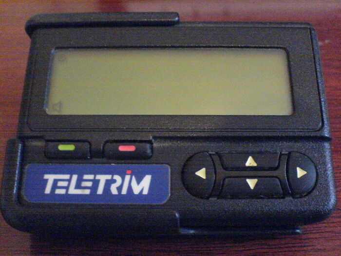 Pagers Are Now Collecting Dust