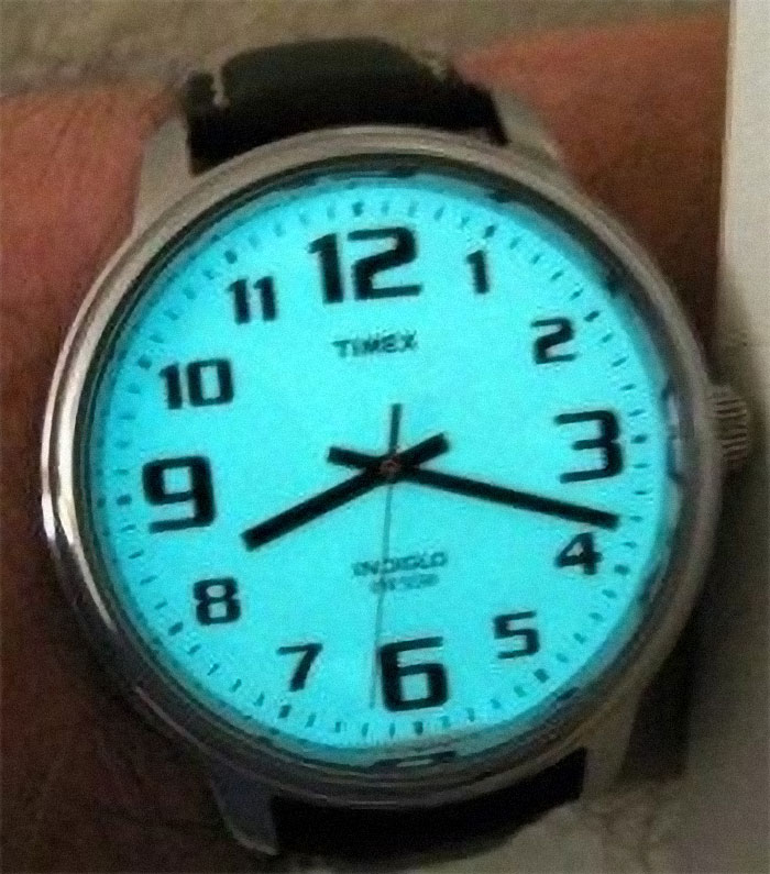 Watches That Lit Up Blue