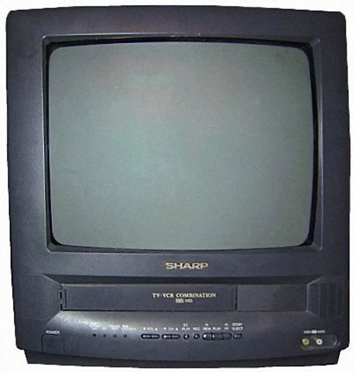 TVs With A VHS Player Built Into Them