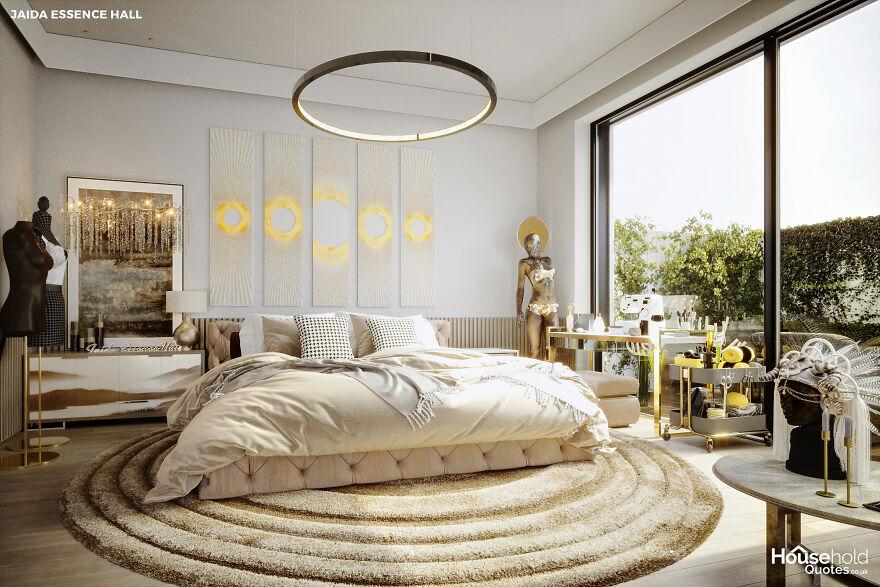 Jaida Essence Hall's Bedroom (Season 12 Winner)